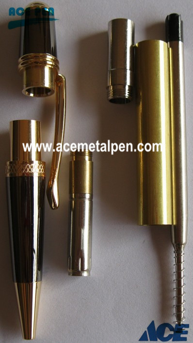 Sierra Pen Kits in Gold and Gun Metal