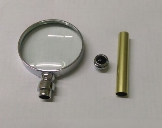 Magnifer Glass Kit IN Chrome or 24kt Gold