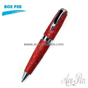 Elegant PU leather Metal Pen,Stylish Metal Ball Pen