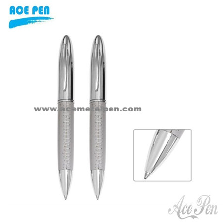 High Quality Black Leather Pens