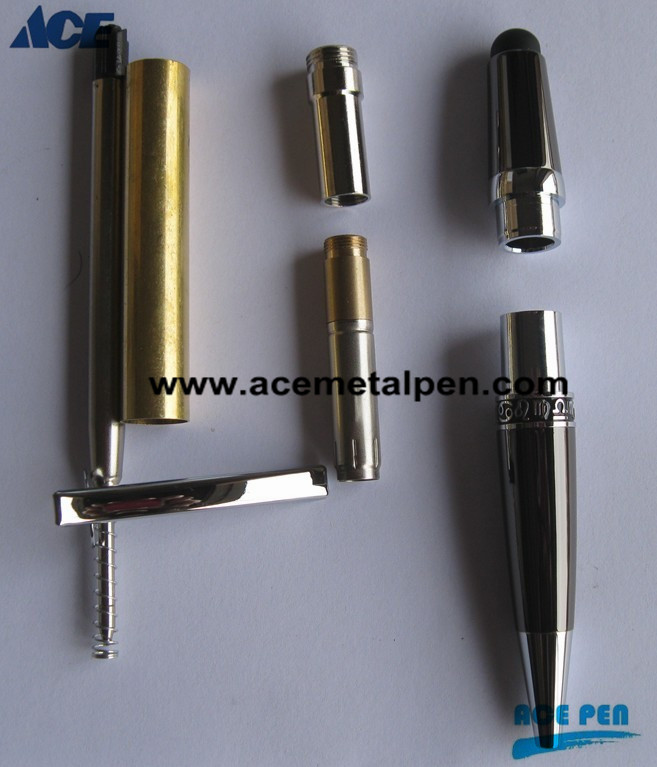 Sierra Pen Kits-24KT Gold/ Gun Metal